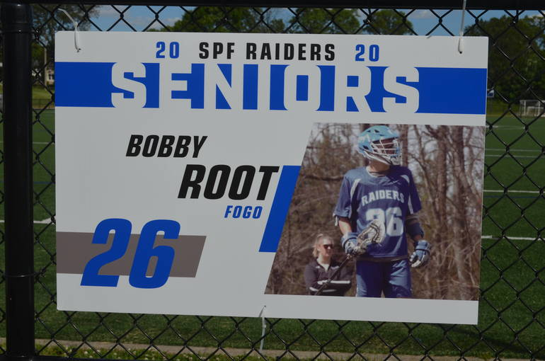 Scotch Plains-Fanwood boys lacrosse player Bobby Root