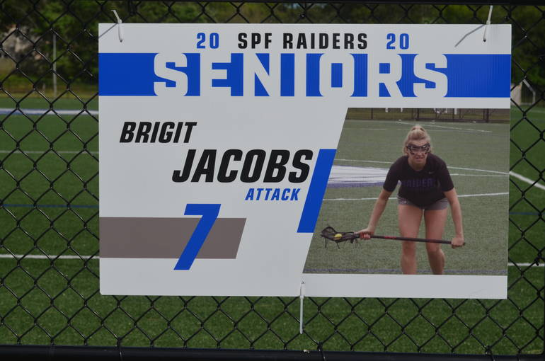 Scotch Plains-Fanwood girls lacrosse senior Brigit Jacobs