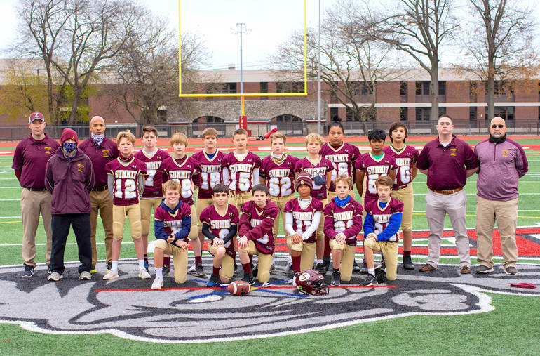 After Title Game Cancellation, Undefeated Summit Youth Football 'C Team' Declared Co-Champs