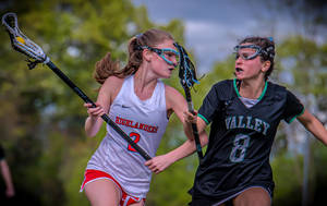 Maguire Nets Career-High 8 Goals To Power Lady Highlanders In Girls Lacrosse Victory