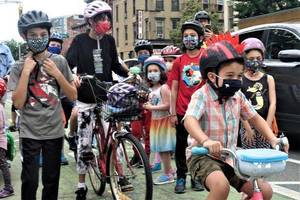 Bike Safety the Focus of Kids Ride Through Jersey City Streets