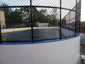 Who Gives a Puck? Davis Celebrates Opening of Bayonne's First Roller Hockey Rink