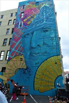 In Hoboken Art is Life. New Mural Depicts History of Mile Square City
