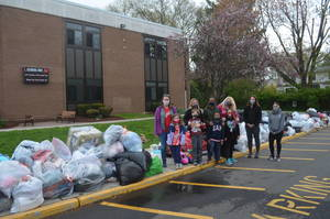 Huge Response for Clothing Drive at School One in Scotch Plains
