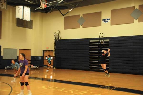 Girls Varsity Volleyball vs Falmouth - YouTube
