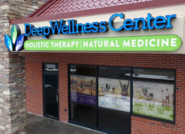 Deep Wellness Center Retail Location