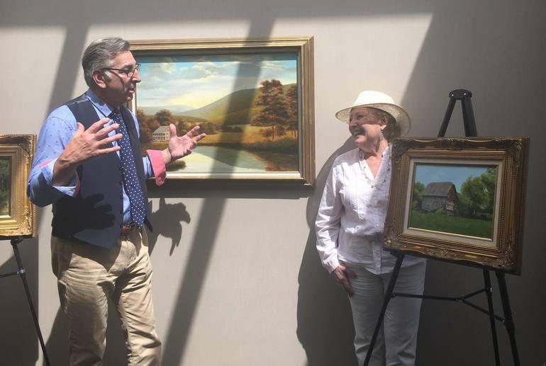 Warren Mayor Accepts Donation of Artwork by Ralph GarafolaE0A6B2D4-5C4F-40B3-BF18-338CFE66B007.jpeg