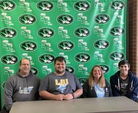 South Plainfield High School  Senior John Padovano Signs with Long Island University Post football