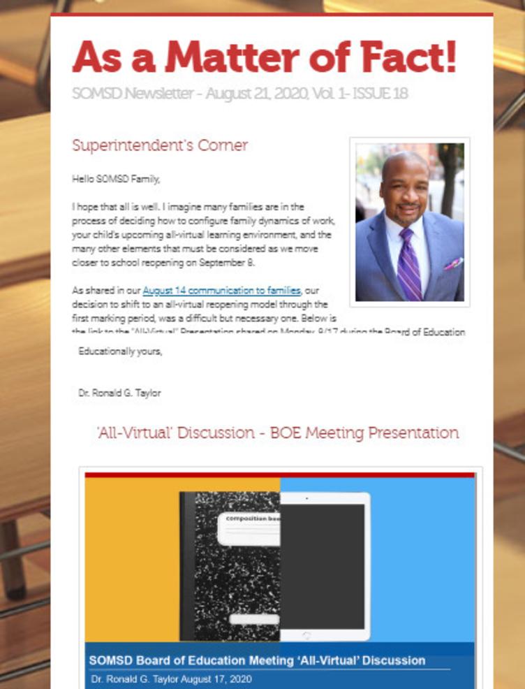 Virtual Newsletter