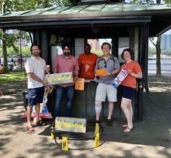 Kiosks on Hoboken's Pier A Open Up, Offering Food & Fun