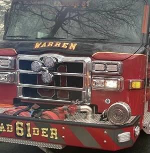 Truck Fire Ties Up I-78 in Warren
