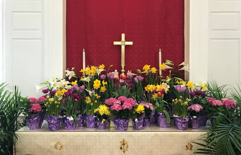 Celebrate Holy Week with First Congregational Church Virtual Services