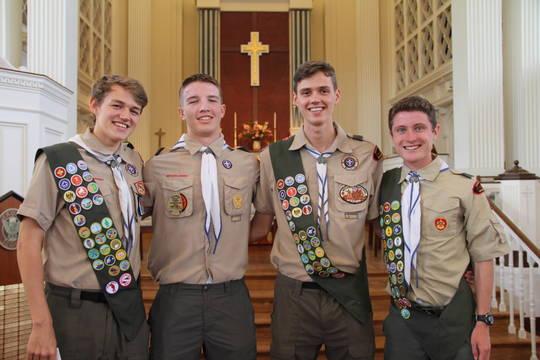 Top story 0b0d2455c9e7c0dba0a1 eagle scout ceremony