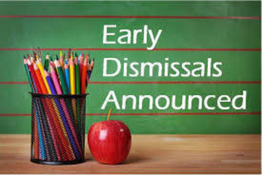 Top story 32df5a9e6bb162a88e63 early dismissal