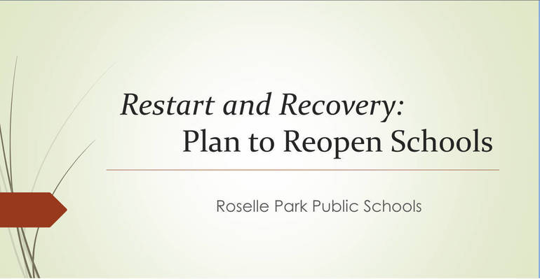 Restart Recovery Plan