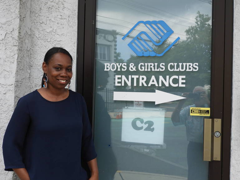 Ebony Holloway, Unit Director of the Boys and Girls Club, Red Bank.JPG