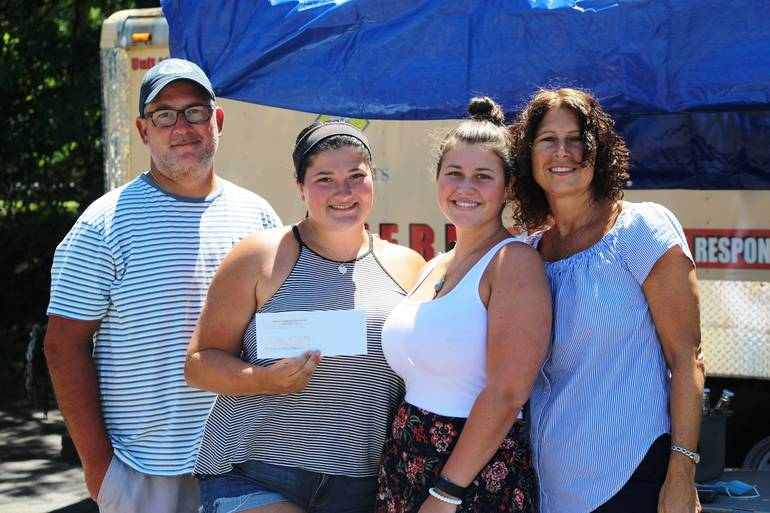 Hasbrouck Heights Elks Award Scholarship to Chiara Colletti