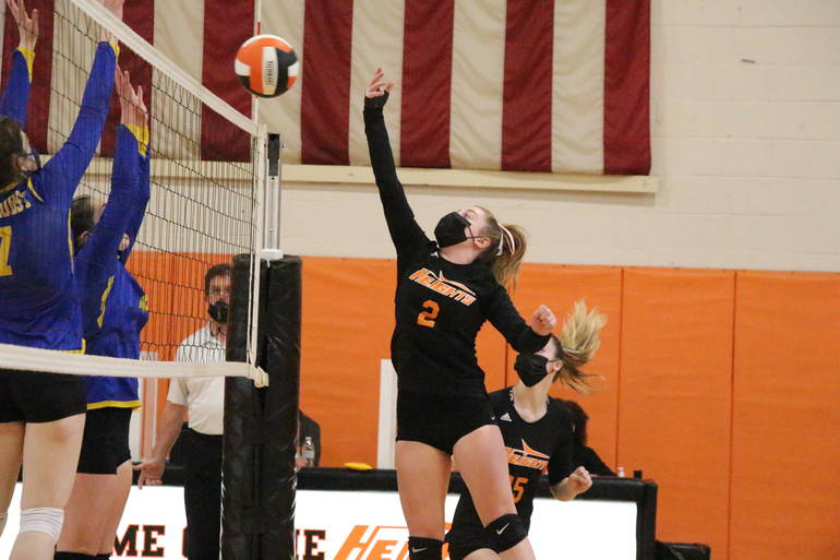HS Volleyball: Lyndhurst Upsets Hasbrouck Heights in NJSIAA Semi-Finals