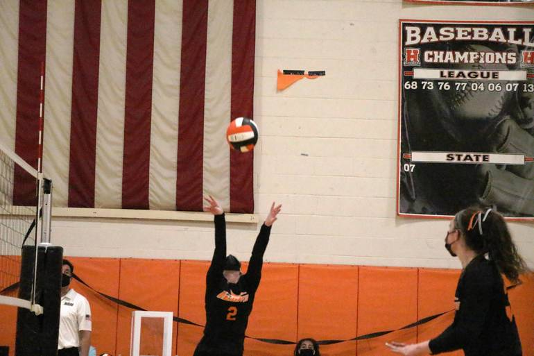 HS Volleyball:  Hasbrouck Heights Stays Sharp in Win over Fort Lee