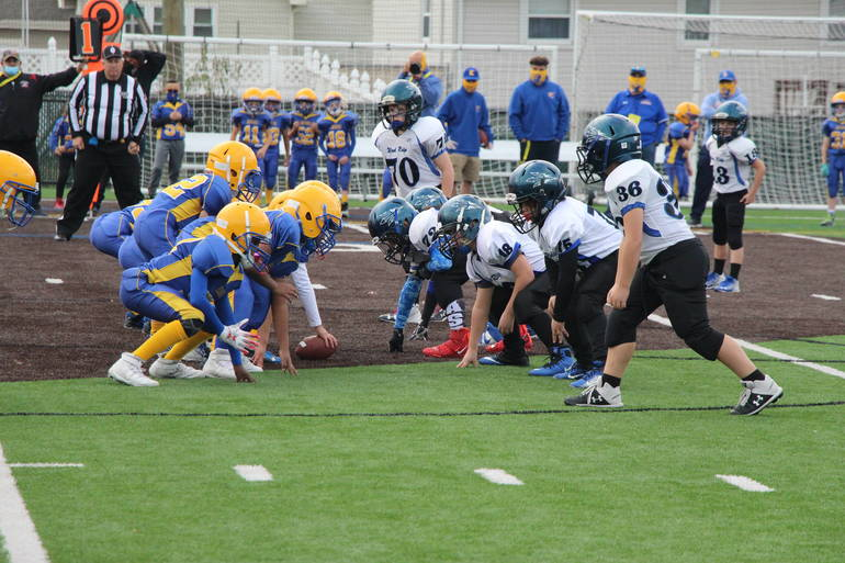 Rec Football: Wood-Ridge Pee Wees Fall in Super Bowl to Lyndhurst
