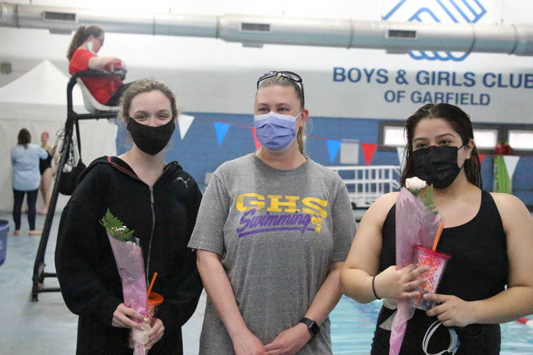 HS Swim:  Garfield/Hasbrouck Heights Senior Night Features First In-Person Meet of the Season
