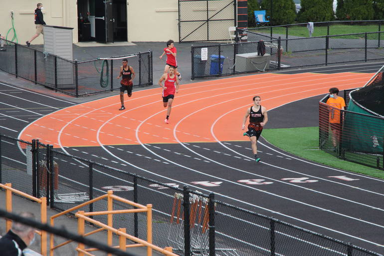 HS Track:  Hasbrouck Heights Rolls in First Track Meet of the Year