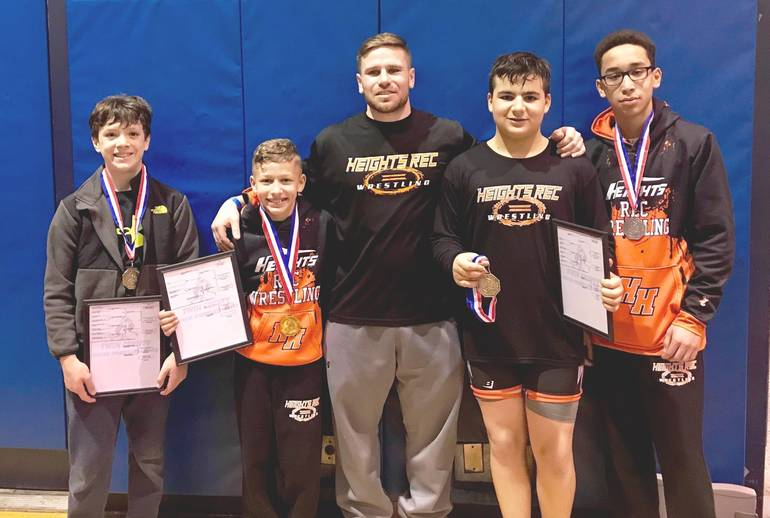 Hasbrouck Heights Rec Wrestlers Bring Home a Record 10
