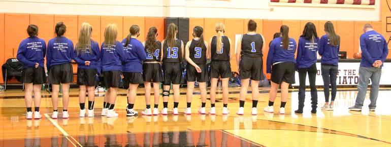 HS Girls Basketball:  Wood-Ridge Wins Finale,  Edges Glen Rock, 31-26