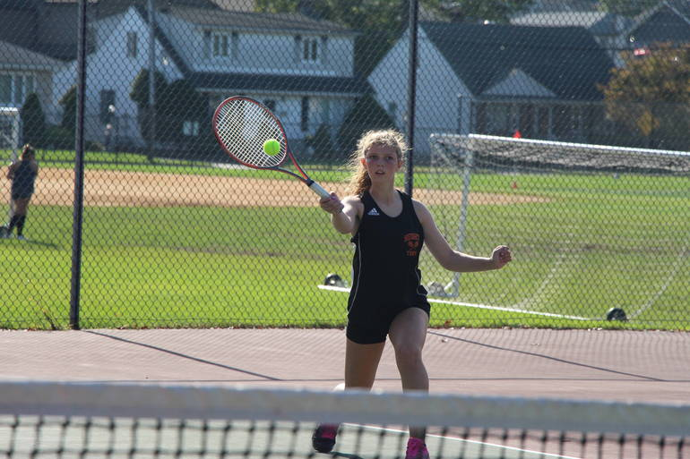 HS Tennis:  Hasbrouck Heights' Sonzogni, Todd and Trexler Named First Team All Division