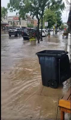 Hasbrouck Heights, flooding, Boulevard