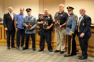 Wood-Ridge, police, Knights of Columbus, award