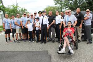 Wood-Ridge and Hasbrouck Heights Students Again Run with Officers in Annual Torch Run for Special Olympics