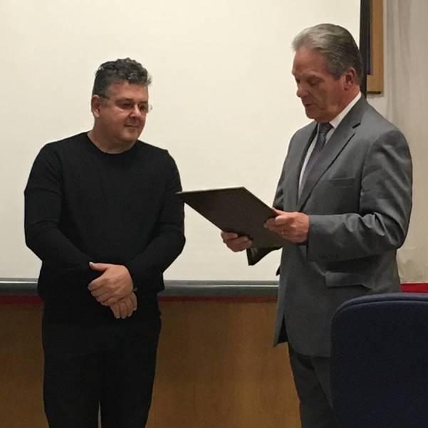 DiMaio's Honored