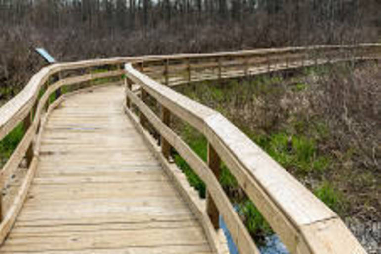 Environmental Education Center boardwalk