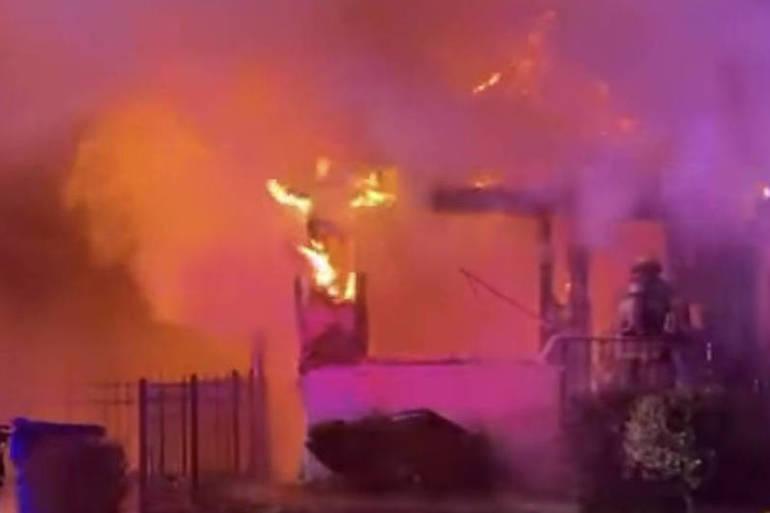 Middletown Fire Destroys Home on Dakota Avenue