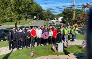 East Hanover Holds Wreath Laying Ceremony  to Honor 9/11 Anniversary