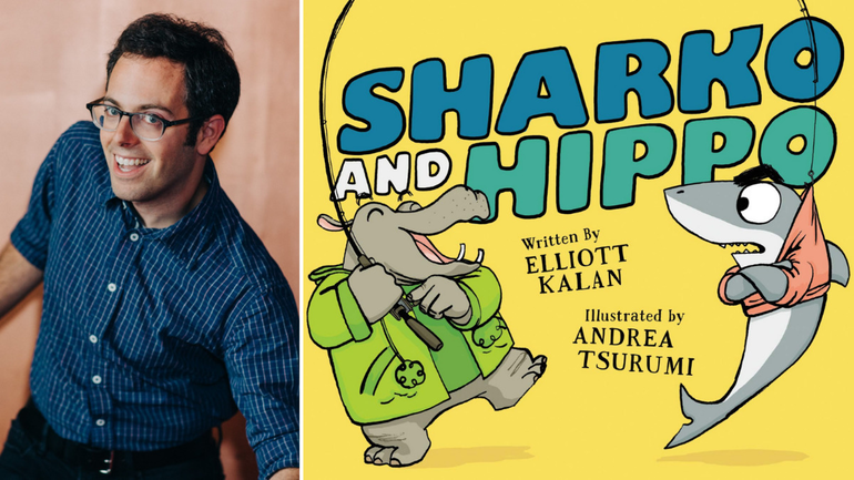 Author Elliott Kalan Visits Library of the Chathams