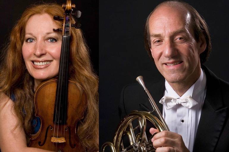 Grammy Nominated Violinist and NY Philharmonic Hornist to Perform in Short Hills