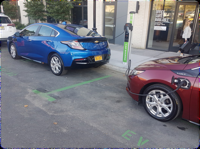 Electric Vehicle Show at Scotch Plains Day on Sunday, Oct. 7