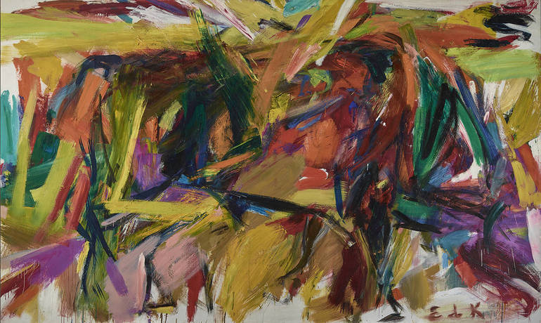Elaine de Kooning Bullfight 1959 Denver Museum of Art
