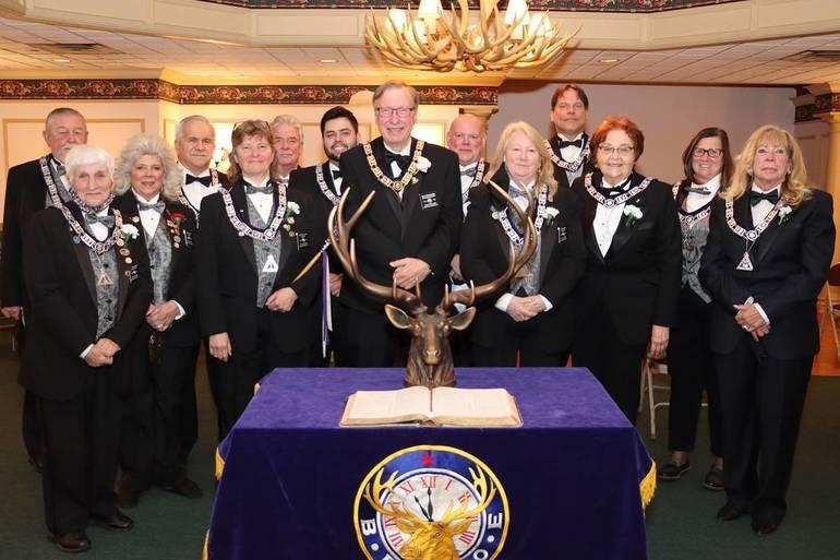 2021-2022 Elks Officers