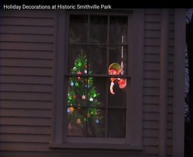 It's Not Too Late to Enjoy Smithville Park's Holiday Light Show, Tree Decorations