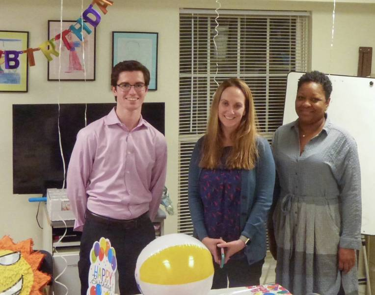 Employees from The Hampshire Companies hosted a birthday party for a member of the family they are sponsoring at Homeless Solutions.jpeg