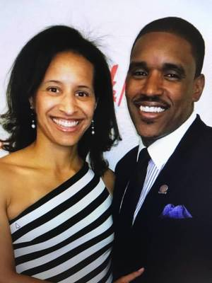 Carousel image 4d4ed1a191c4bbc3447f emily bienko brown a pope john high school alumna and track and field record holder  and bobby brown  former nfl player for the cleveland browns.