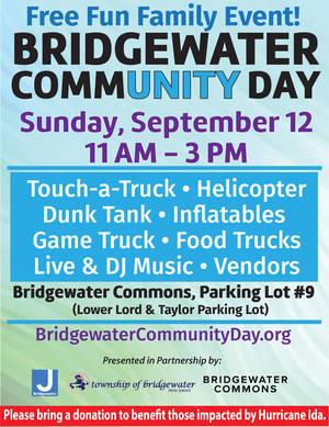 Bridgewater Community Day Coming Sunday