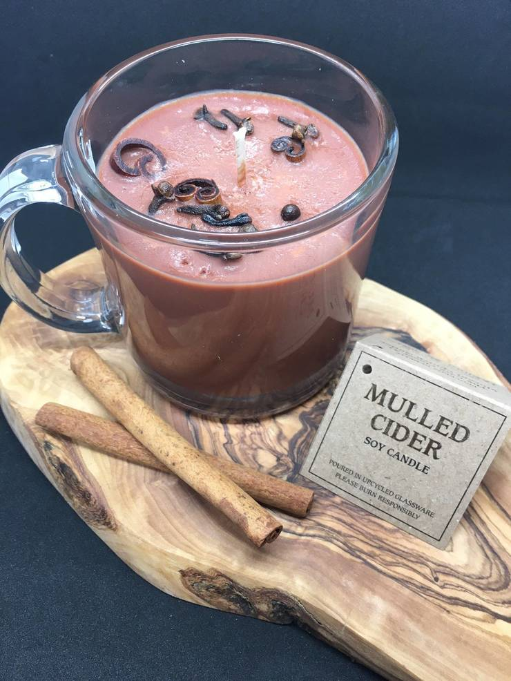"""Small Business Saturday: Sales of Locally Made """"Mulled Cider"""" Soy Candles Benefit Nutley's Care Pantry"""