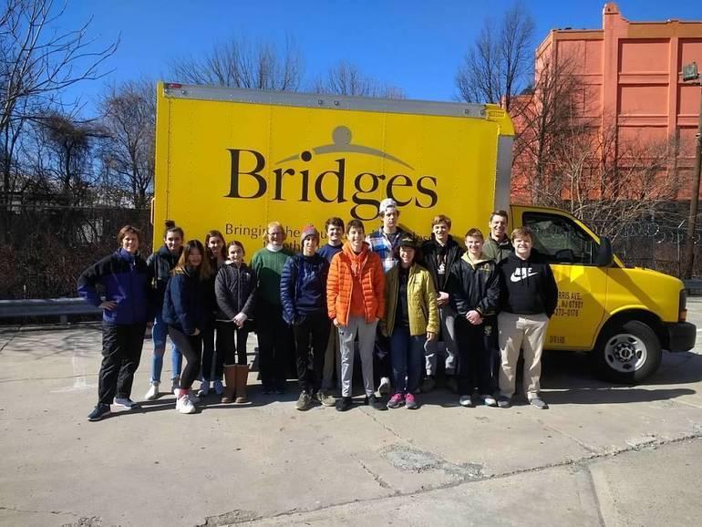 Bridges' Big Yellow Truck