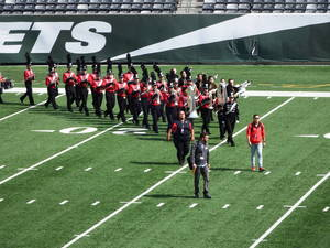 West Essex Marching Knights Compete at MetLife Stadium