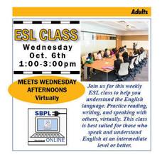 ESL Classes Resume At South Brunswick Public Library
