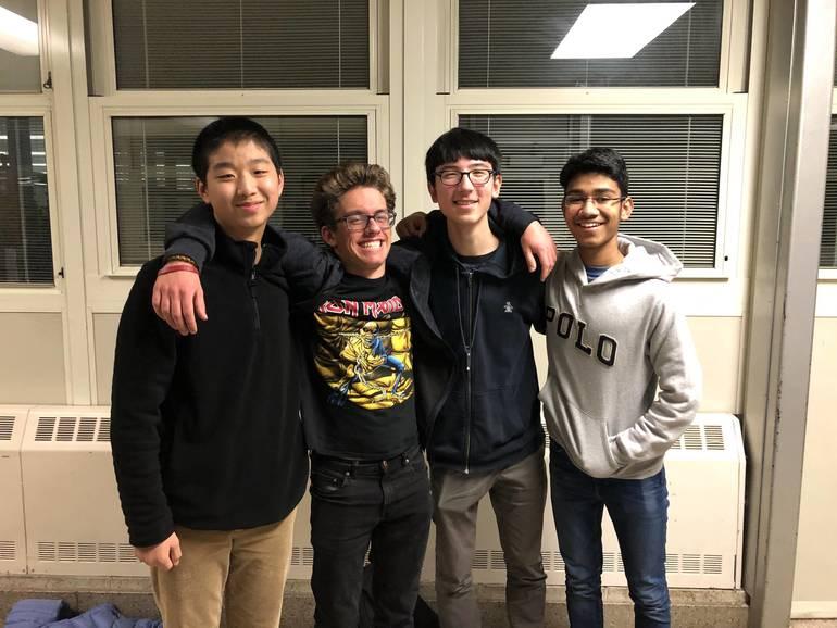 E Team- Captain Peter Wang, Teagan Richichi, Sebastian Wu, Adi Sinha.jpeg
